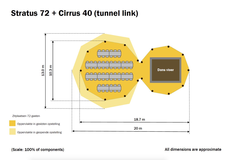 Stratus 72 + Cirrus 40 (tunnel link)