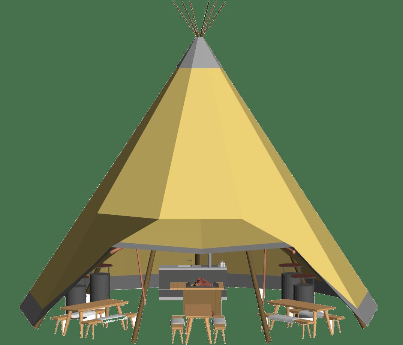 Voorbeeld schets zweedse tenten lakeman