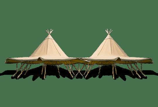 Oneindig koppelen Zweedse Tenten